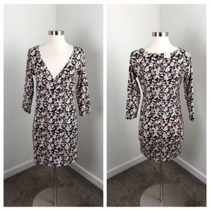 NEW Forever 21 floral wrap dress